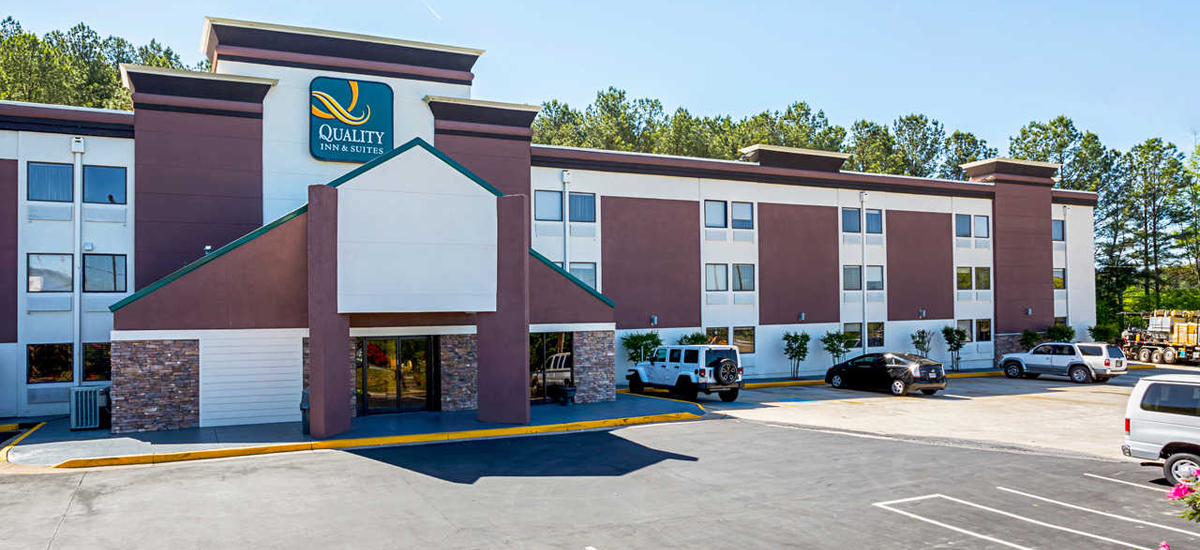 Quality inn suites atlanta georgia hotels near six for Hotel near mercedes benz stadium atlanta